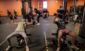 Gyms and leisure centres pose a low Covid-19 risk according to academics.