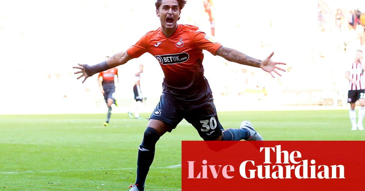 0fc2e01101f Sheffield United 1-2 Swansea City: Championship - as it happened ...