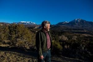 Pete Kolbenschlag in Paonia, Colorado.