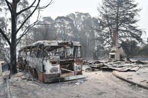 Burnt out house at Deptford rd, Clifton Creek. 1 January 2020.