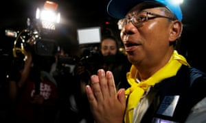 Narongsak Osatanakorn, Thailand's rescue coordinator, speaks to journalists
