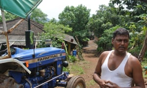 Farmer Ramu Gaviti.