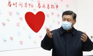 Xi visited a centre for disease control and prevention in Beijing in 10 February.