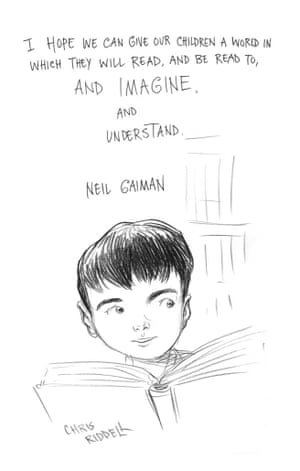 Page 19 of Neil Gaiman and Chris Riddell's book Art Matters. ART MATTERS by Neil Gaiman, illustrated by Chris Riddell is published by Headline on 6th September
