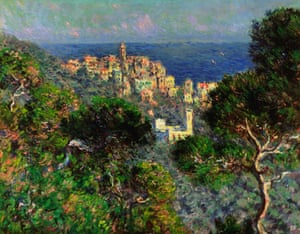 Beguiling … Claude Monet's View of Bordighera (1884) – part of Monet and Architecture at the National Gallery, London.