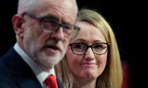 Rebecca Long-Bailey, pictured with Jeremy Corbyn, would be the sort of Labour leader the Tories would worry about least, said the Conservative MP NIgel Evans