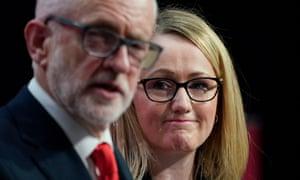 Long-Bailey and Corbyn