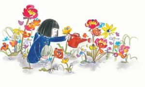The Secret Sky Garden by Linda Sarah and Fiona Lumbers.
