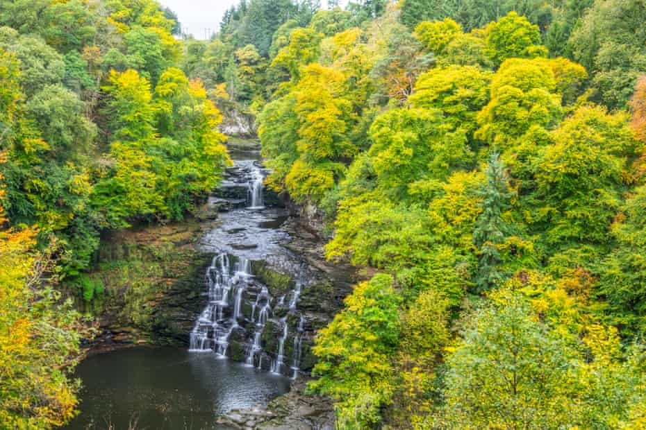 New Lanark and The Falls of Clyde