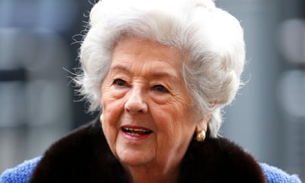 Betty Boothroyd, pictured in March, 2014