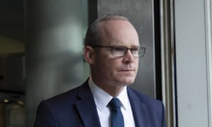 Simon Coveney, the Irish deputy PM and foreign minister.