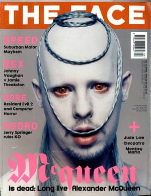 Alexander McQueen by Nick Knight, The Face April 1998.