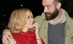 After hearing Joshua Sasse's recording for the first time, Kylie Minogue says she is 'a mess' and is shedding 'tears of joy'.