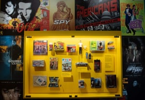 Toys and games from movies and TV shows about spies.