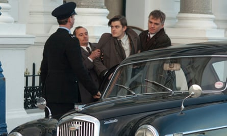 Sam Riley (centre) as Pinkie in the 2010 film of Brighton Rock.