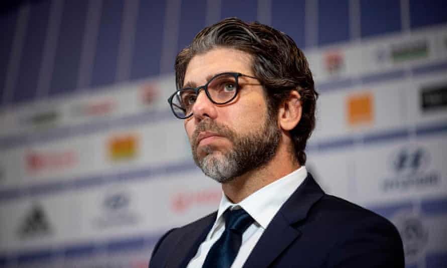 Juninho, seen here at the unveiling of Rudi Garcia as the new Lyon manager in October 2019, says Brazil's establishment 'does not have empathy and is teaching us not to have it too'.