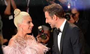 Lady Gaga and Bradley Cooper at the Venice film festival for the premiere of A Star Is Born.