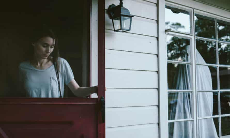 'I was so riddled with self-doubt' … Rooney Mara and Casey Affleck in A Ghost Story.