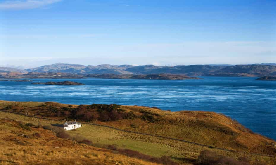 Orwell came to Barnhill and Jura for the isolation, and it's still the same today