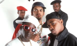 Public Enemy in 1988. The collection features artwork from their 1990 album, Fear of A Black Planet