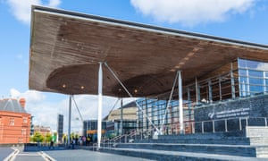 The Welsh assembly in Cardiff