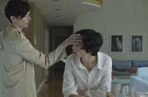 Tilda Swinton and Ezra Miller in We Need To Talk About Kevin.