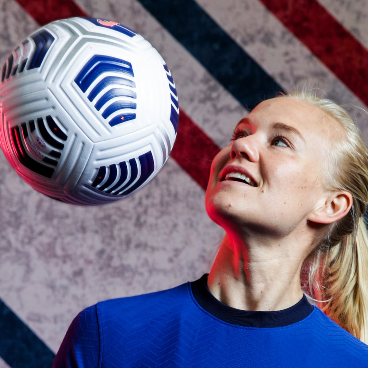 Pernille Harder The Biggest Thing Would Be To See Magda Lift The Trophy Chelsea Women The Guardian
