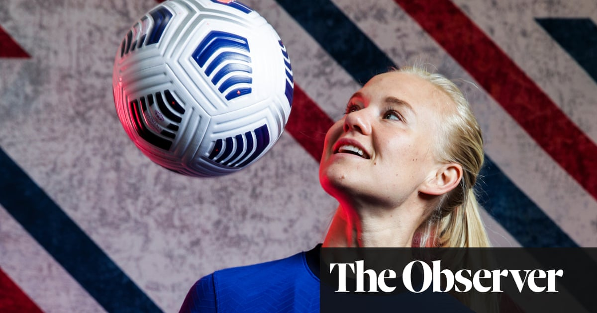 Pernille Harder: 'The biggest thing would be to see Magda lift the trophy'