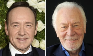 Kevin Spacey will be replaced by Christopher Plummer in Ridley Scott's finished film about J Paul Getty.