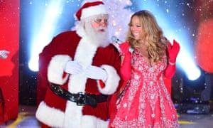 Mariah Carey performing in 2012.