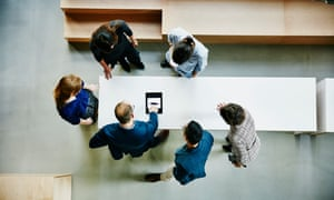 Is standing the new sitting when it comes to meetings?
