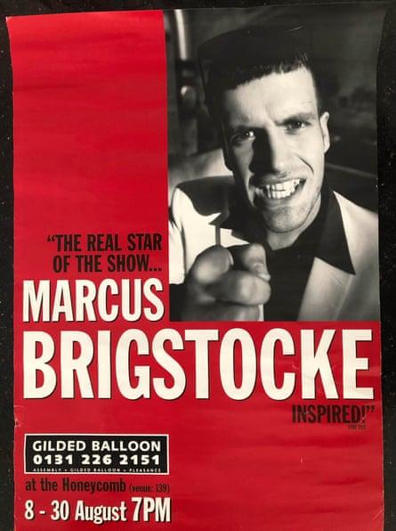 'Trivialising an atrocity' … Marcus Brigstocke