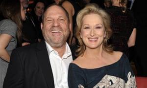 Harvey Weinstein and Meryl Streep pictured in 2012.