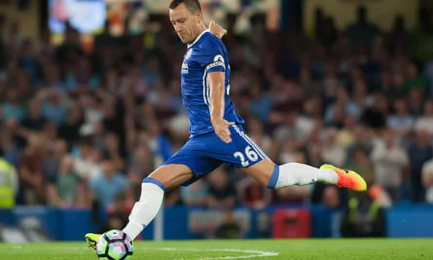 Chelsea's John Terry during the Premier League match against West Ham United