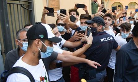 Luis Suarez in Perugia