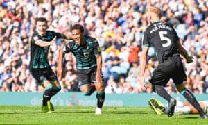 Wayne Routledge celebrates his late goal for Swansea against Leeds.