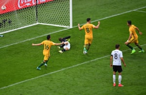 Tomi Juric slots home from close range.