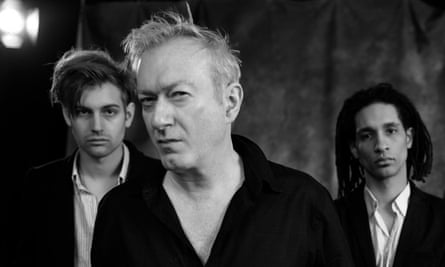 The most recent incarnation of Gang of Four, featuring Andy Gill centre.