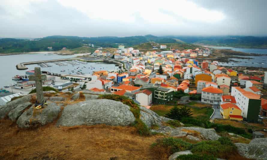 The fishing town of Muxía