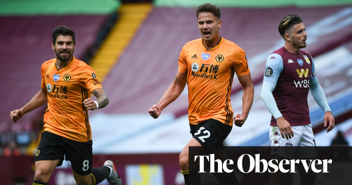 Aston Villa survival hopes dented by Dendonckers winner for Wolves