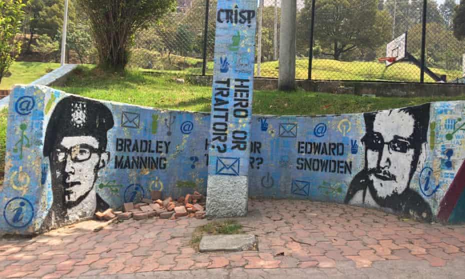 Bogota street art.