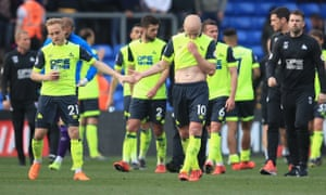 Alex Pritchard and Aaron Mooy have been two of Huddersfield's bright sparks in an otherwise disappointing season.