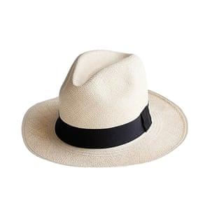 Panama hat, £89, jcrew. com.
