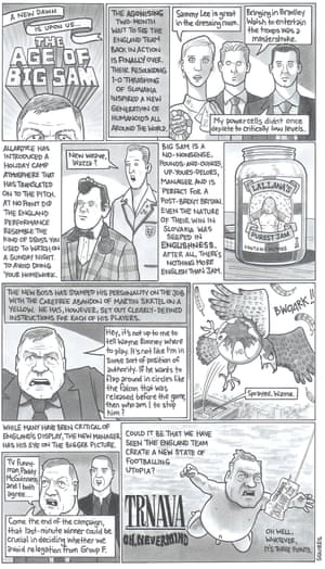 David Squires on ... the age of Big Sam