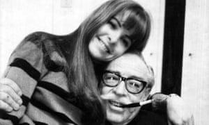 Dalton Trumbo with Mitzi in 1967.