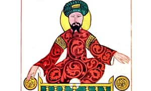 Portrait of Saladin (1137-1193), the first sultan of Egypt and Syria, and the founder of the Ayyubid dynasty.