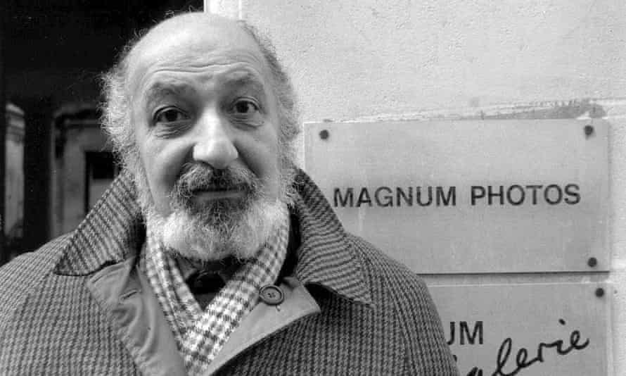 Ara Güler in Paris in 1988. 'I believe that photography is a form of magic by which a moment of experience is seized for transmission to future generations,' he said.