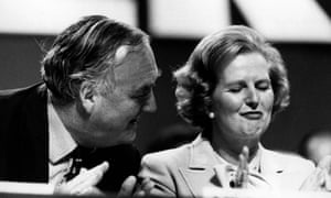 Willie Whitelaw and Margaret Thatcher