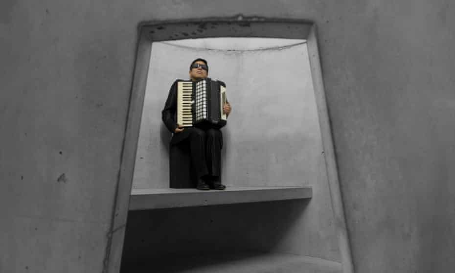 'It can sound like music, but it is not music' …professional mourner Hugo Aníbal González Jiménez. Photograph: Ⓒ Photograph by Taryn Simon.