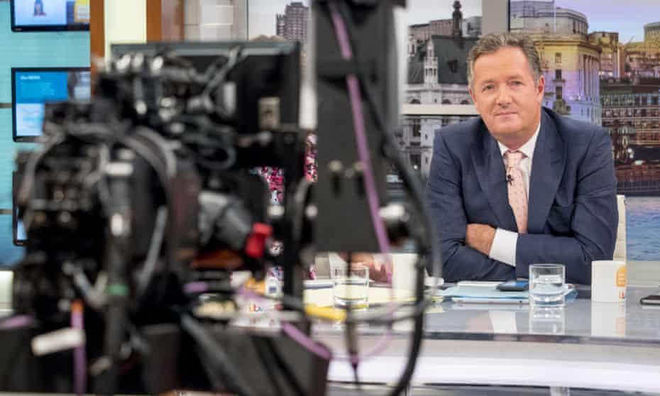 Piers Morgan presents 'Good Morning Britain' on 13 September 2017.